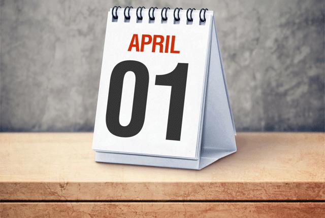 April Fools' Resolutions