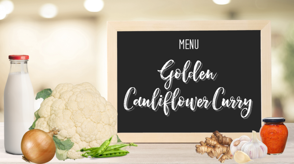 Recipe: Golden Cauliflower Curry