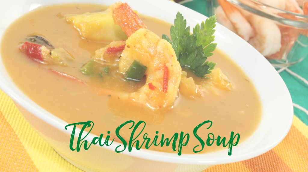 Recipe: Thai Shrimp Soup