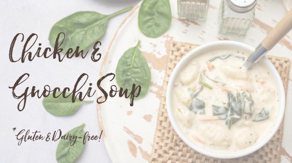 Recipe: Chicken and Gnocchi Soup